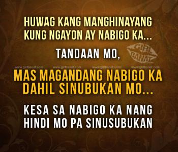 tagalog motivational