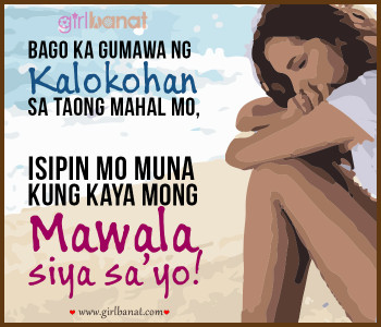 Cool Tagalog Love Quotes