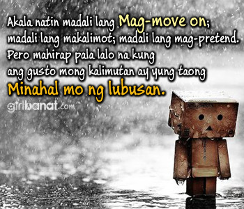 Tagalog Moving On Quotes and Messages - www.girlbanat.com